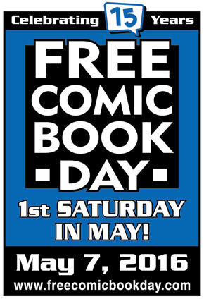 Free Comic Book Day 2016 @ All Things Fun! JBMDL | Trenton | New Jersey | United States