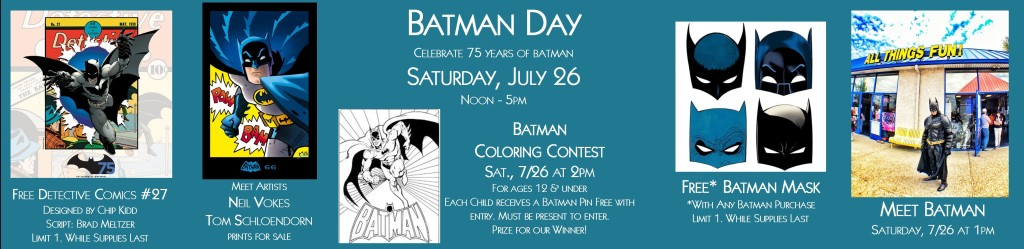 Batman Day at ATF @ All Things Fun! | Berlin Township | New Jersey | United States