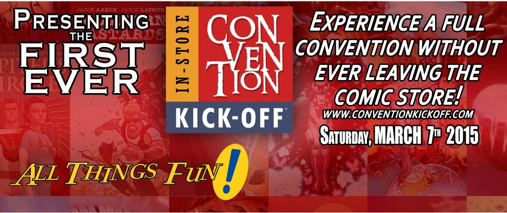 In Store Convention Kick-off! @ All Things Fun! | Berlin Township | New Jersey | United States