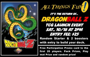 DragonBall Z Launch Event @ All Things Fun!