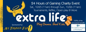 24 Hours of Gaming Charity Event @ All Things Fun!
