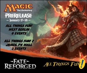 Magic Fate Reforged Midnight Pre-Release (Event #1) @ All Things Fun!