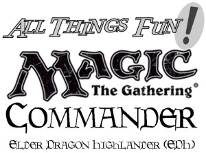 Magic EDH Standard Commander Special Event @ All Things Fun!