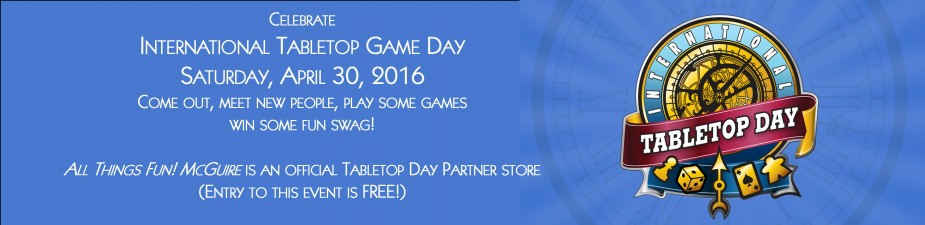 Tabletop Day 2016