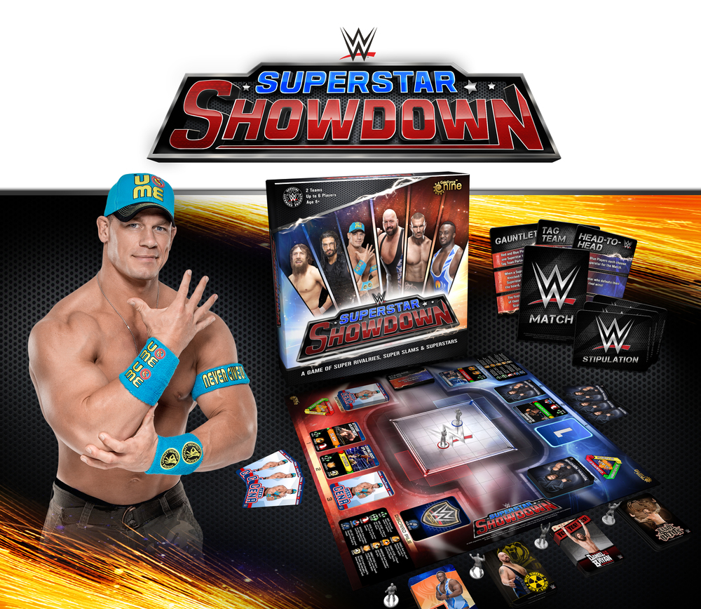 wwe board game