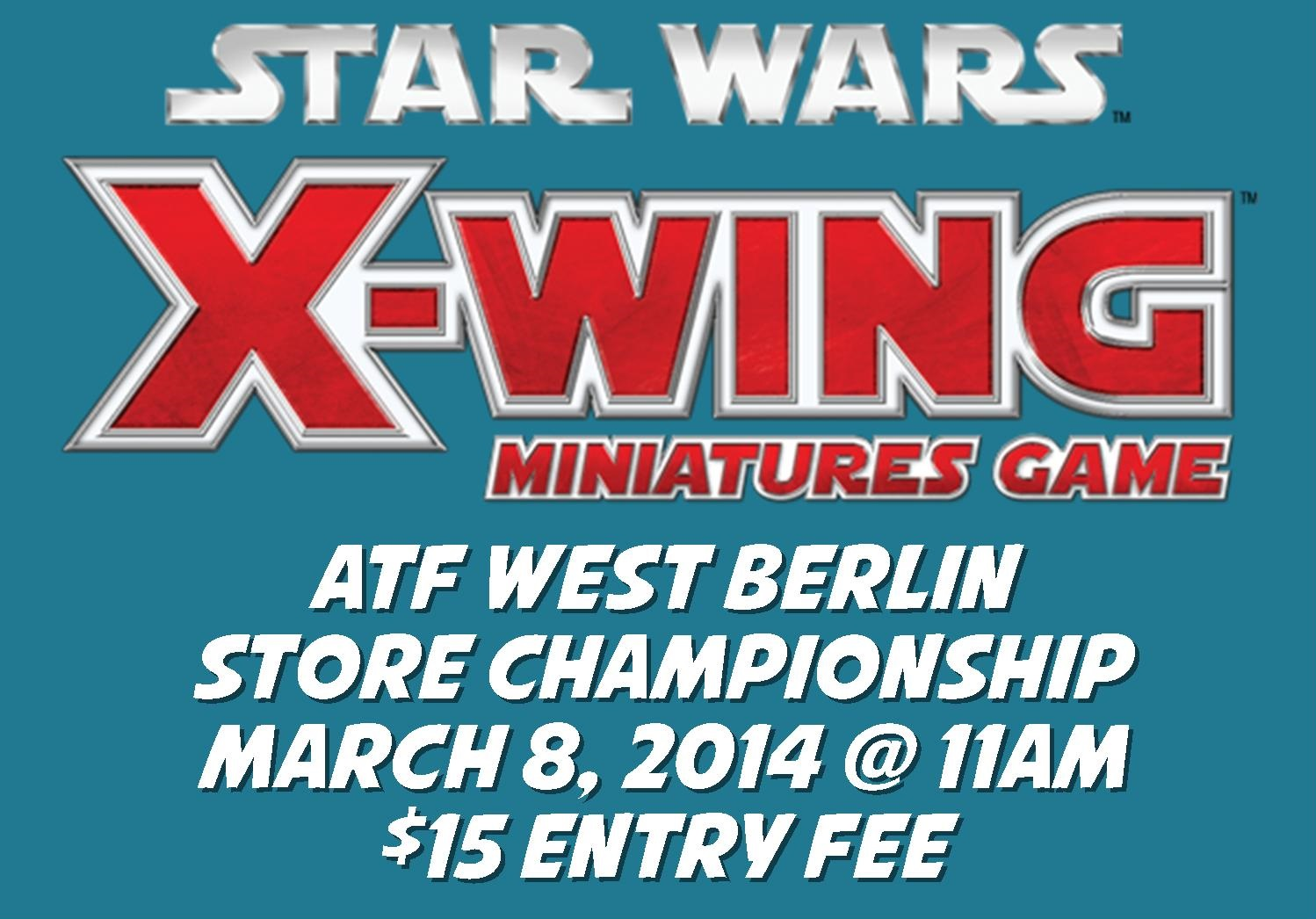 X-Wing Miniatures Store Championship @ All Things Fun! 1